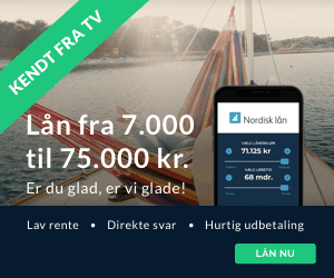 Nordisk lån - udbetales samme dag