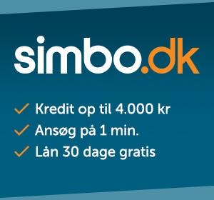 Få 30 dages gratis kredit som ny kunde